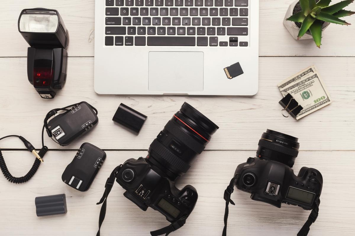 empleo de fotógrafo
