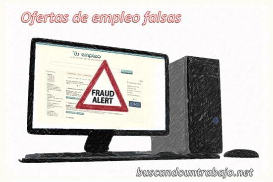 Ofertas de empleo falsas: detectarlas y denunciarlas 1