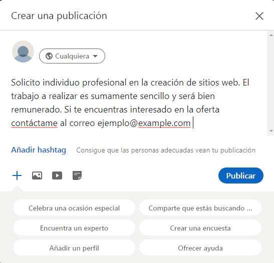 ¿Cómo solicitar un trabajo en Linkedln?
