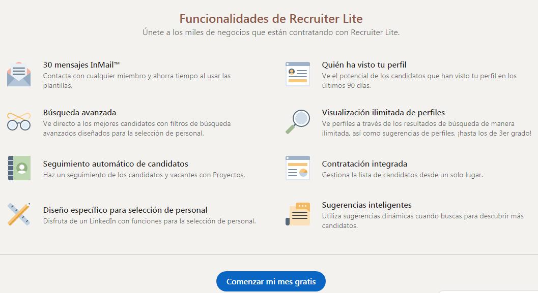 Ventajas de LinkedIn