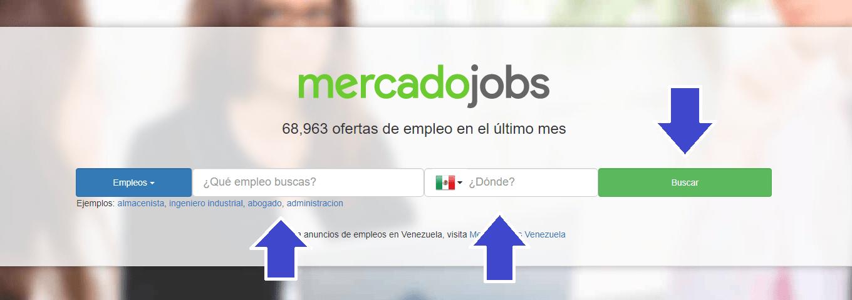 Cómo buscar trabajo en Mercadojobs